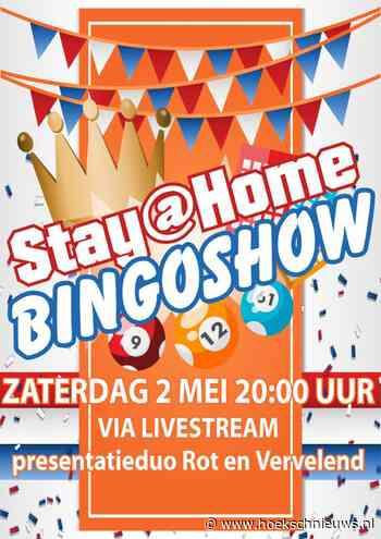 Stay@Home BingoShow Oranjevereniging Zuid-Beijerland ter bate van de Hospice Hoeksche Waard - Hoeksche Waard Nieuws
