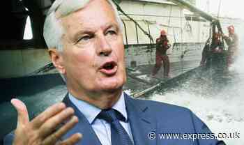 EU capitulation: Barnier to beg nations to cave on fishing demands - no deal NOW very real - Express