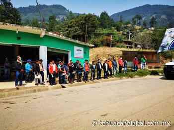 Autoridades municipales de Ajalpan se solidarizan y entregan más de 6500 despensas en las comunidades - Tehuacán Digital