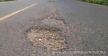 Destruida la carretera estatal Amatlán-Paso del Macho - Vanguardia de Veracruz