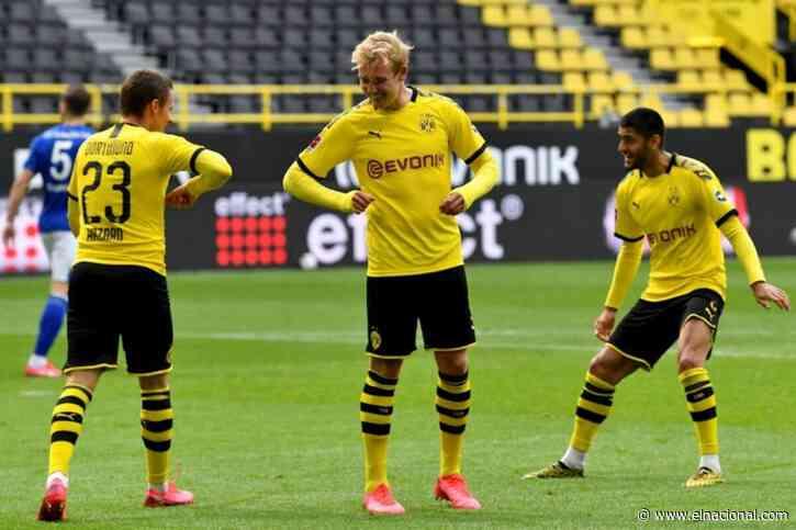 Dortmund-Bayern, el clásico alemán vuelve el martes a puerta cerrada