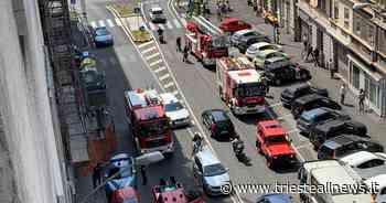 Incendio in un appartamento di via Giulia [Aggiornamento] - TRIESTEALLNEWS