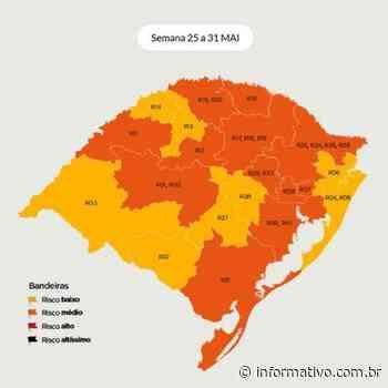 Região de Lajeado segue com bandeira laranja - Infomativo