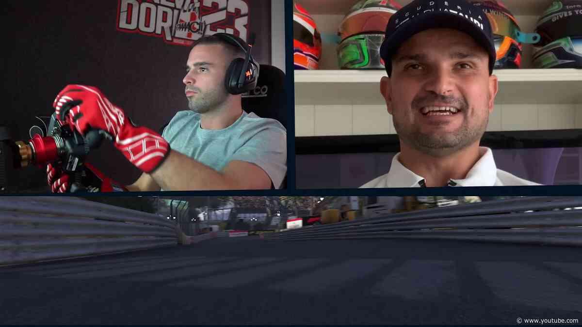 Monaco Virtual GP Preview