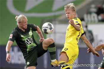 Live-Ticker: VfL Wolfsburg gegen BVB startet mit Schweigeminute - Ruhr Nachrichten
