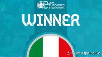 eEuro 2020 won by Italy after dramatic wins over Israel, France and Serbia