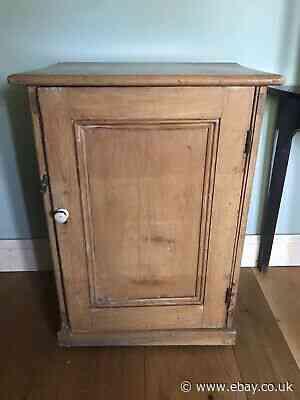 Vintage Pine Cabinet   Height = 82.5cm  Width = 58.5 cm  Depth = 43cm