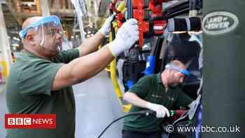 Coronavirus: Jaguar Land Rover in talks over government loan