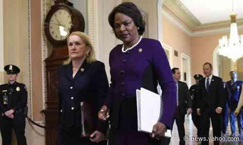 Democratic VP contender Demings slams Trump 'gall' over Biden black voters gaffe