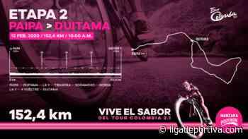 Tour Colombia: Previo Etapa 2 / Paipa – Duitama - Ciclismo - Liga Deportiva Postobón