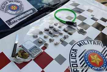Homem é preso por tráfico de drogas na zona norte de Franca - Notícias de Franca e Região
