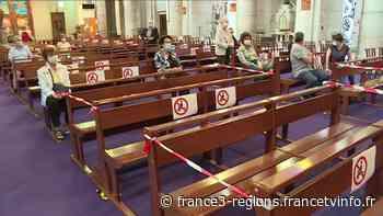 """Les messes de nouveau autorisées : de Nice à Menton, """"ça fait du bien de retrouver la communauté"""" - France 3 Régions"""