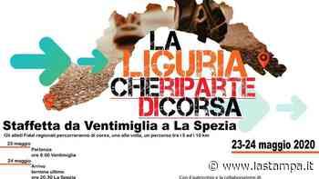 """""""La Liguria che riparte di corsa"""": una staffetta da Ventimiglia a La Spezia - La Stampa"""
