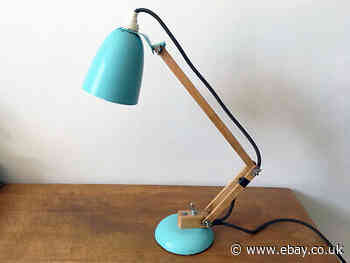 Original vintage Maclamp desk anglepoise lamp by Terence Conran for Habitat, duc
