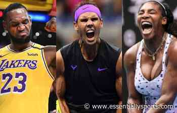 WATCH: NBA Star LeBron James Hails Rafael Nadal and Serena Williams - Essentially Sports