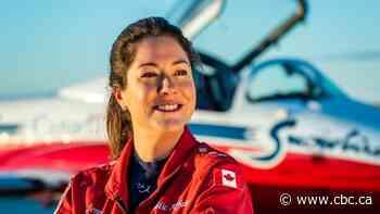 Halifax motorcade honours Snowbirds Capt. Jennifer Casey