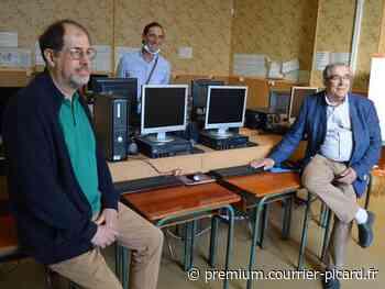 À Grandvilliers, 16 ordinateurs pour les familles en difficulté - Courrier picard