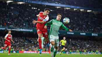 La Liga chief eyes Seville derby for re-start