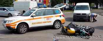 Mariano, scontro in via S.Agata Ferito un motociclista - La Provincia di Como
