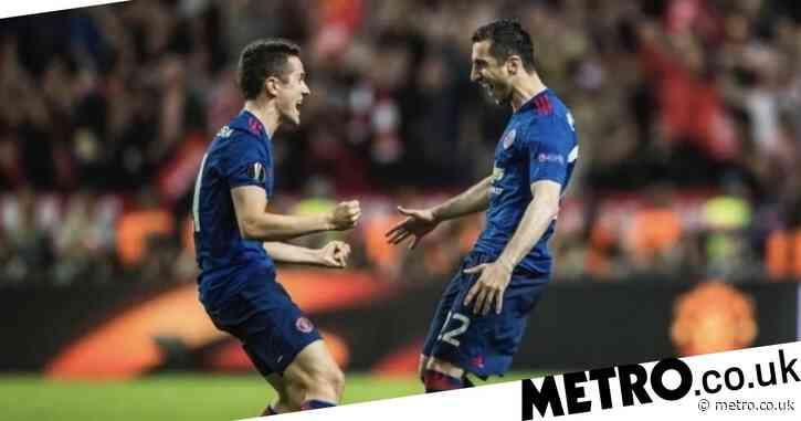 Henrikh Mkhitaryan sends message to Ander Herrera on anniversary of Manchester United's Europa League win
