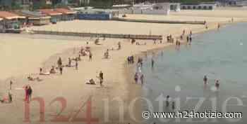 VIDEO - Covid, fase 2: prima domenica in spiaggia a Gaeta, le interviste - h24 notizie