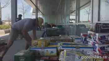 Coronavirus outbreak: Bottle drive raises money for the Lakeshore General Hospital