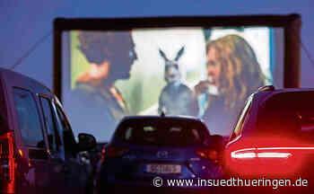 Autokino: Größte Leinwand weit und breit - inSüdthüringen
