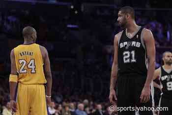 Report: Hall of Fame considering delayed induction ceremony for Kobe Bryant, Tim Duncan