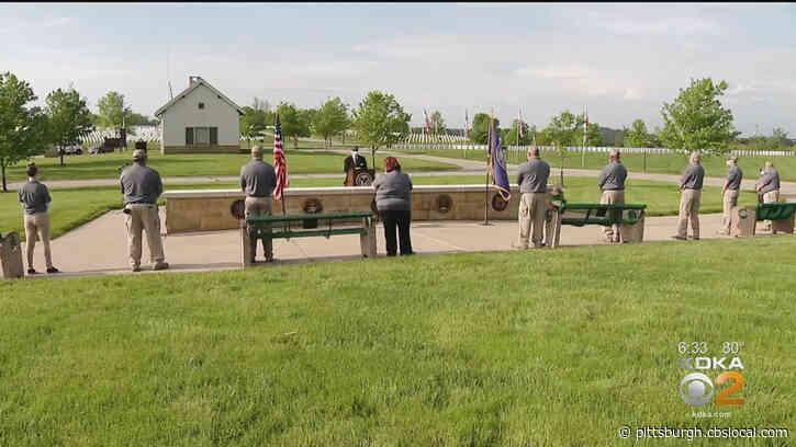 'We Have To Remember Them': National Cemetery Of The Alleghenies Holds Private Memorial Day Ceremony To Honor Fallen Military Members