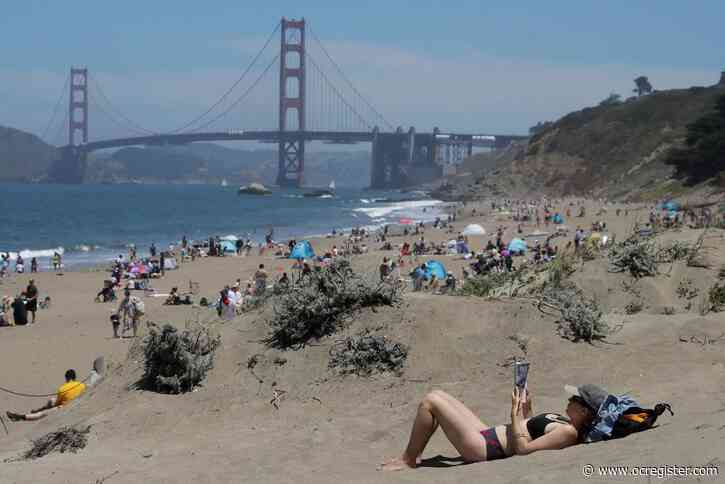 Californians venture outside as state relaxes virus rules