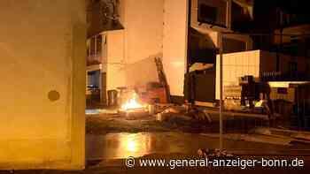 Ordnungsamt Siegburg im Einsatz: Anwohner entzünden Lagerfeuer mitten in Siegburger Innenstadt - General-Anzeiger