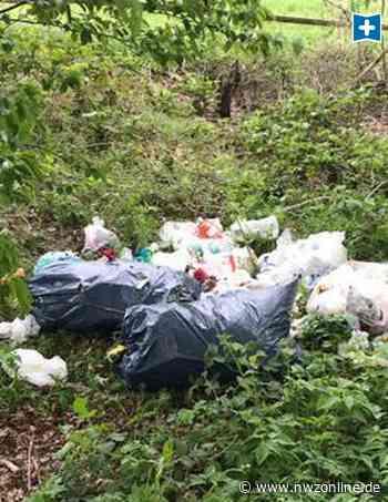 Umweltverschmutzung In Emstek: Illegale Müllentsorgung ärgert Anwohner und SPD - Nordwest-Zeitung