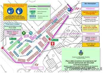 Montebello Vicentino: il mercato si sposta in Piazzale del Donatore per garantire le misure di sicurezza anti-contagio - Corriere Vicentino