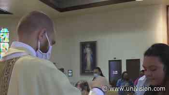 Se reanudan las misas dominicales en la catedral de San Fernando - Univision