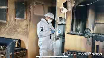 San Fernando: Detienen a hombre acusado de quemar el departamento de su ex pareja - Cooperativa.cl