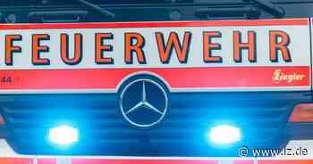 Löschgruppe Großenmarpe kommt mit Blaulicht zum Kindergeburtstag | Lokale Nachrichten aus Blomberg - Lippische Landes-Zeitung