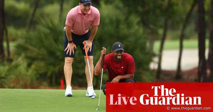 The Match: Tiger Woods & Peyton Manning beats Phil Mickelson & Tom Brady – as it happened
