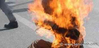 Thiès : un père de famille aspergé d'essence et brûlé vif par son fils - Seneweb