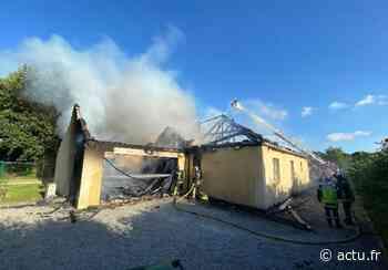 Savenay : une maison détruite par un incendie - actu.fr