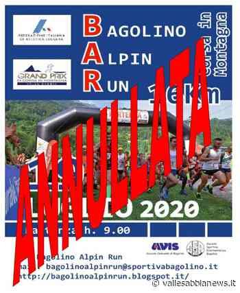 Bagolino - Annullata la Bagolino Alpin Run - Valle Sabbia News