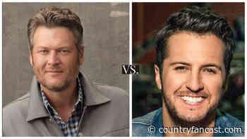 Blake Shelton versus Luke Bryan (Music Video Face-off) - Country Fancast