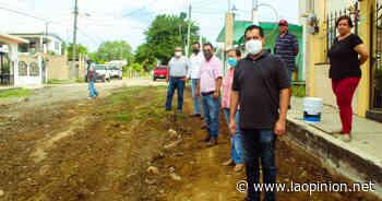 Inicia alcalde de Naranjos obra en la colonia 16 de septiembre - La Opinión