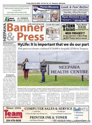 Friday, May 22, 2020 Neepawa Banner & Press - myWestman.ca