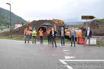 Lavori rotatoria Laives nord - La Voce di Bolzano