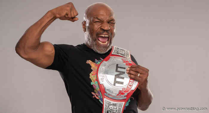 Boxing Icon Mike Tyson Announced For This Week's AEW Dynamite
