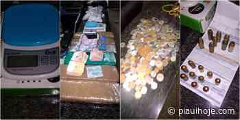 Policiais desarticulam rede de venda de drogas entre Teresina e Piripiri e prendem 3 - Piauí Hoje