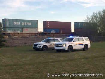 Pedestrian struck and killed by train in Stony Plain - Stony Plain Reporter