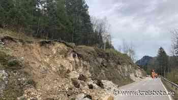 Vollsperrung auf der Staatsstraße St 2542 zwischen Mittenwald und Klais | Garmisch-Partenkirchen - kreisbote.de