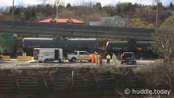 Leaking Rail Car Forces Temporary Highway Closure In Saint John - Huddle Today