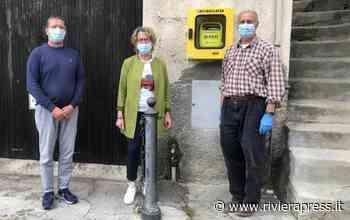 Vallebona, posizionato il defibrillatore donato dai Lions Club Bordighera Caponero Host - Riviera Press
